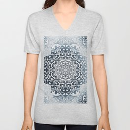WINTERFIELD MANDALA Unisex V-Neck
