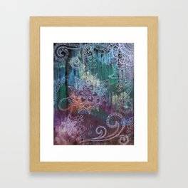 Lesson Framed Art Print