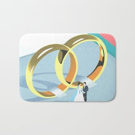 Wedding Bath Mat