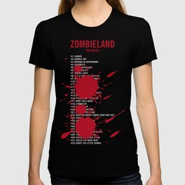 Zombieland Rules T-shirt