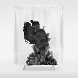 Heaven is just me and you. Shower Curtain