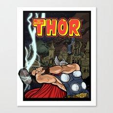 The Mighty Thor, God of Thunder Canvas Print