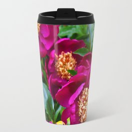 Shot in Purple Travel Mug