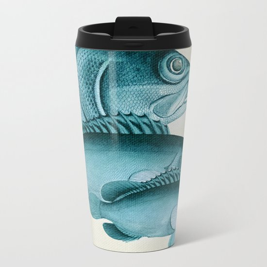 Fish Classic Designs 4 Metal Travel Mug