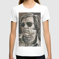 phil jones T-shirts featuring Jones by Buddy Owens Paintings