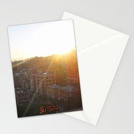 Tramonto a Genova 2 Stationery Cards