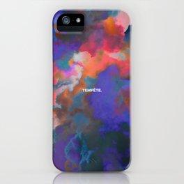 Tempête iPhone Case