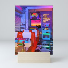 Retrowave Dine & Dream Mini Art Print