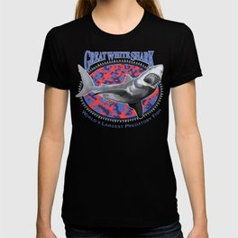 Great White Shark, World's Largest Predatory Fish T-shirt