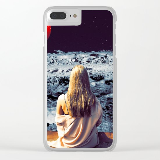 Moonface Clear iPhone Case
