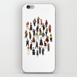 Every Clara Outfit Ever   S7 iPhone Skin