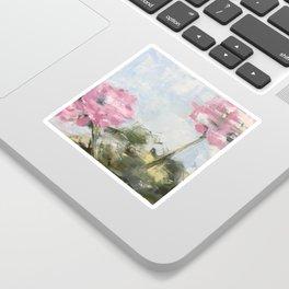 geraniums II Sticker