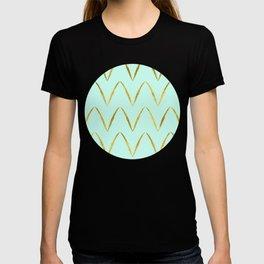 Mint Gold Foil 05 T-shirt