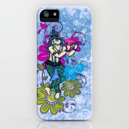 Krishna Rising iPhone Case