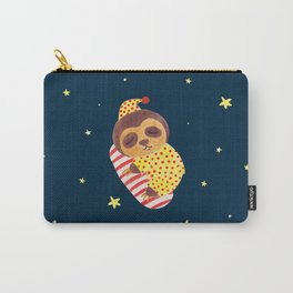 Sleeping Like a Sloth Carry-All Pouch