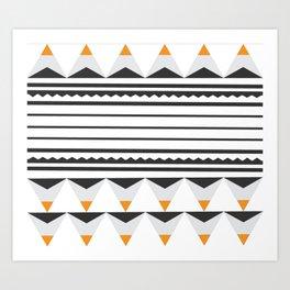 Tribal Lou Art Print