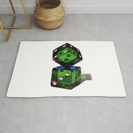 Rigged dices Rug