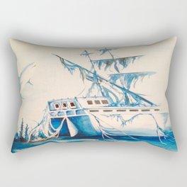 Shipwreck Rectangular Pillow
