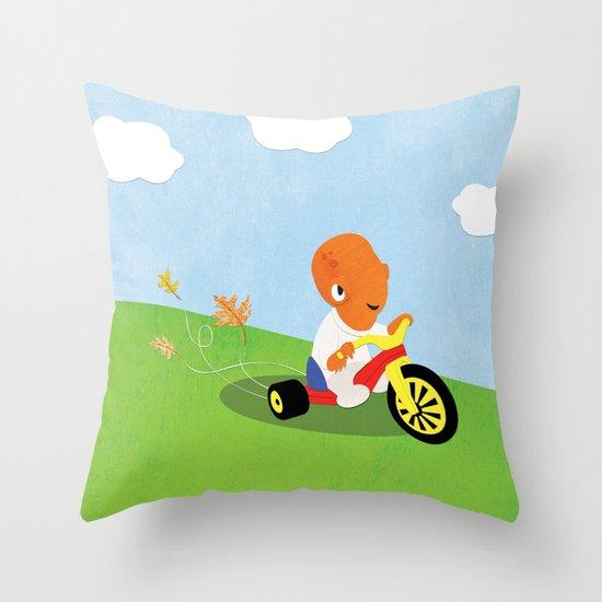 SW Kids - Big Wheel Ackbar Throw Pillow