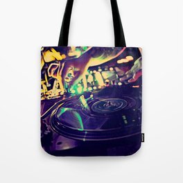 At Nightclub Tote Bag