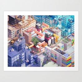Tencent Art Print