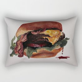 The Burg Rectangular Pillow