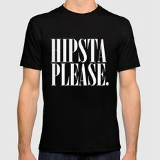 Hipsta Please - Harry Styles SMALL Black Mens Fitted Tee