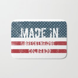 Made in Breckenridge, Colorado Bath Mat