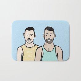 Beard Boy: Jonny & Anthony Bath Mat