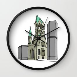 Kaiser Wilhelm Memorial Church Wall Clock