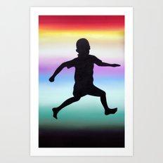 Body Movin - Joy Art Print