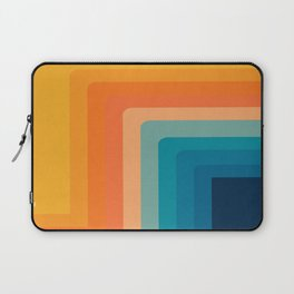 Retro 70s Color Lines Laptop Sleeve