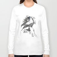 hamlet Long Sleeve T-shirts featuring Hamlet. by Marina Guiu