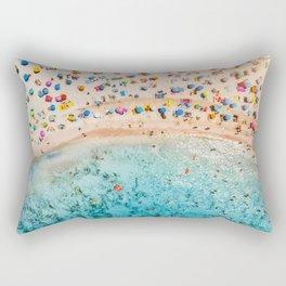 Fairy Bread Beach Rectangular Pillow
