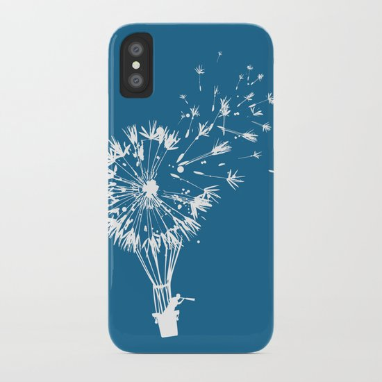 Going where the wind blows iPhone Case