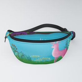 The Silent Deep Stream of Greendown Glenn Fanny Pack