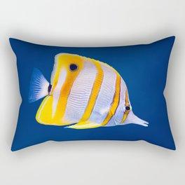 Copperband butterfly fish Rectangular Pillow