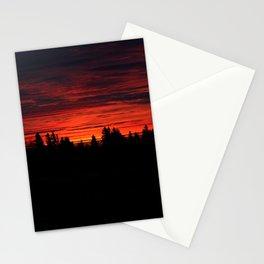 Canadian Sunrise Stationery Cards