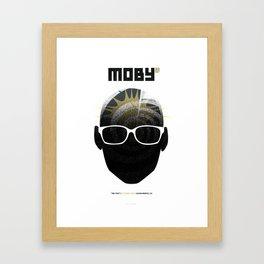 Moby DJ set  Exclusive TBD Fest Poster Framed Art Print