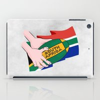south africa iPad Cases featuring South Africa Rugby by mailboxdisco