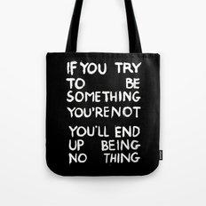 BEING NOTHING 2 Tote Bag