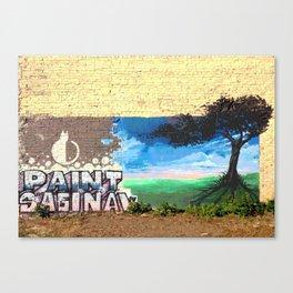Paint Saginaw Canvas Print