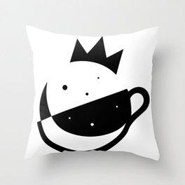 Self-Care Queen - Black Throw Pillow