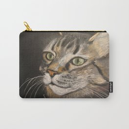 Jack. Main Coon Tabby Carry-All Pouch