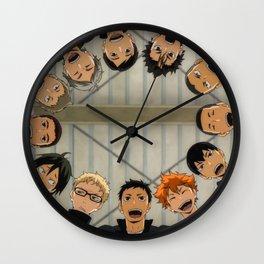 Haikyuu Wall Clock