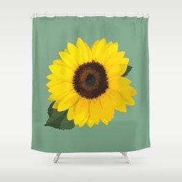 Simple Sunflower Shower Curtain