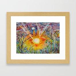 Sun Child Framed Art Print