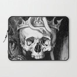 Skull Crowned Laptop Sleeve