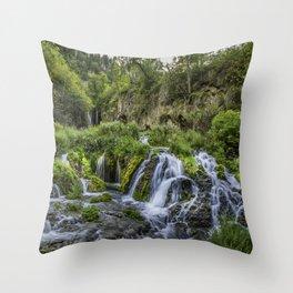 Roughlock Falls Throw Pillow