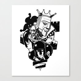 Tower Shuffle Canvas Print